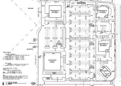 Site Plan Study 1