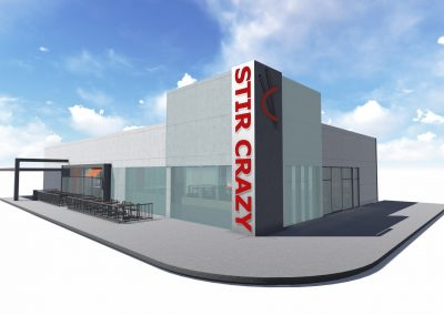 Stir Crazy Oakbrook Center project